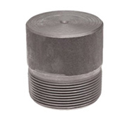 asme b16.11 threaded fitting round head plug manufacturer supplier exporter india