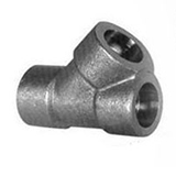 asme b16 11 threaded fitting 45 deg lateral tee manufacturer supplier exporter india