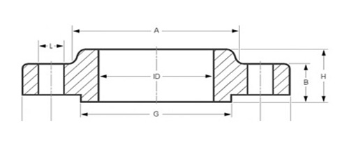 ansi asme 16.5 slip on flange manufacturer supplier exporter in india